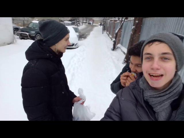 Новогодние сюрпизы от нашей троицы)