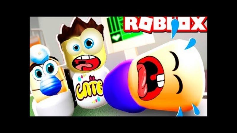 НОВЫЙ ПОБЕГ из БОЛЬНИЦЕ в ROBLOX на SPTV Тоша и мы играют в мульт героя Роблокс по русски