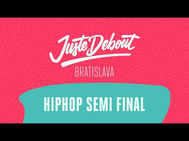 Juste Debout Bratislava 2018 - HipHop Semi Final - Perla KillaSon (win) vs. Ties Ponka