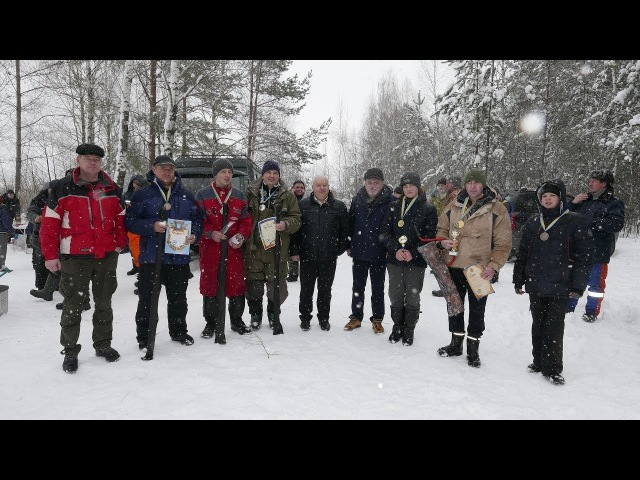 Змагання з ловлі риби на мормишку з льоду Золотий окунь-2018. м. Овруч