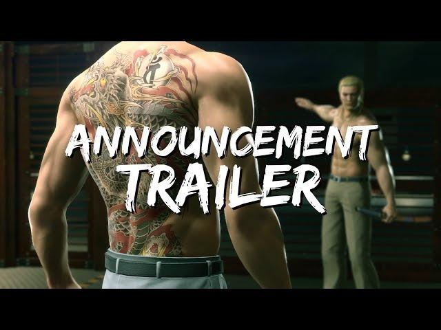 Yakuza Kiwami 2 Анонс Trailer