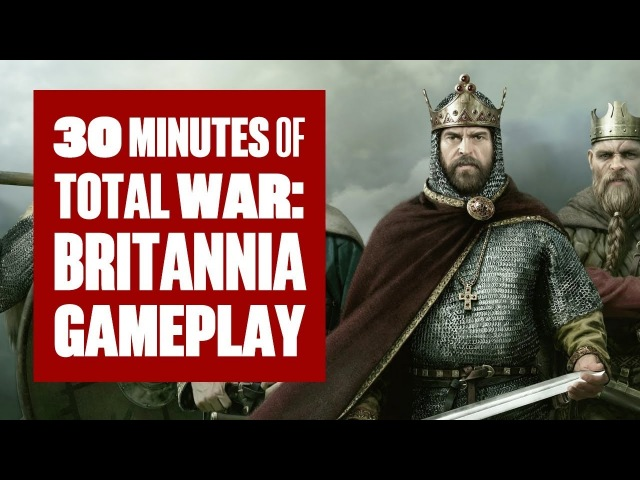 30 minutes of Total War: Thrones of Britannia Gameplay (Campaign/Battle)