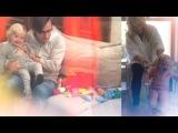 Пугачева Алла и дочка Лиза играются с Максом Галкиным