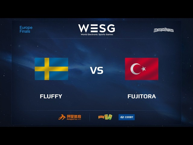 Fluffy vs Fujitora, WESG 2017 Hearthstone European Qualifier Finals
