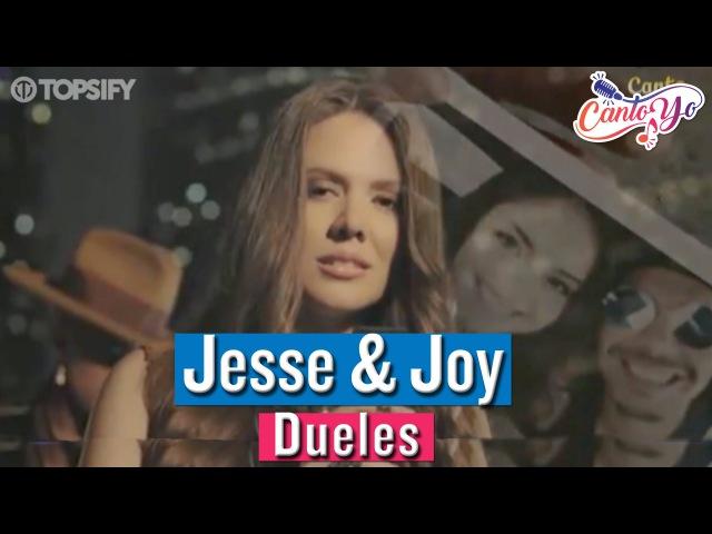 Jesse Joy - Dueles | CantoYo Karaoke