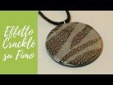 Tutorial Foglia argento con effetto crackl