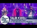 Talib Kweli ft. Rick Ross and Yummy Bingham - Heads Up Eyes Open (The Tonight Show Starring Jimmy Fallon)
