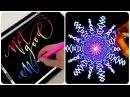 Рисование на планшете! Леттеринг и Каллиграфия на айпаде ✍️ Самое Приятное Залипательное Видео