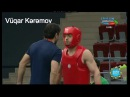 Vugar Karamov Azerbaijan vs Afkhanstan Ahmad Zaker Bakhshi Wushu Sanda İslam oyunlari Baku 2017