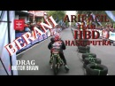 Drag JUPITER 130cc Arif Acil Team HBD Hasil Putra - Video Drag Bike