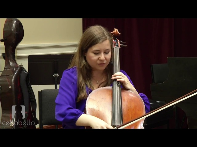 Alisa Weilerstein Interview Bow Grip Arm Weight