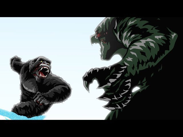 Godzilla vs. King Kong Animated (Part 3/3)
