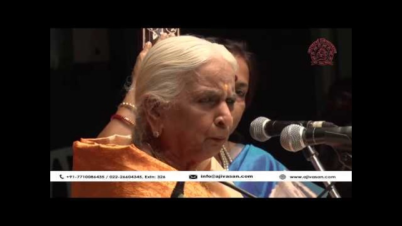 Girija Devi Thumri Indian Classical Singer Performance at The Legends 2017 Part 01