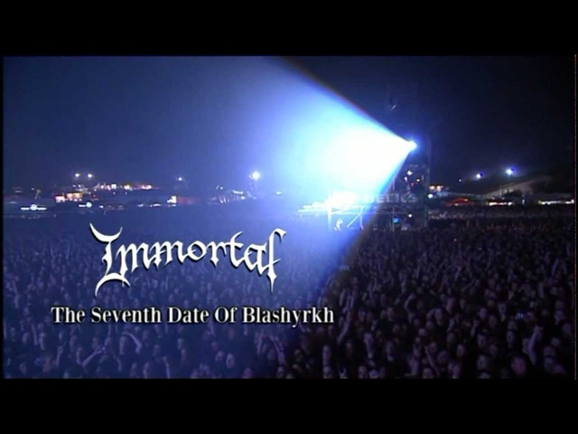 Immortal - The Sun No Longer Rises (Live)