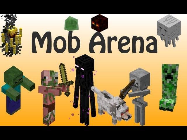 Блогер GConstr заценил! Mob Arena on my server, играем на моб ар. От AdamsonShow