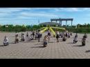 7-мектеп Ленгер Дарынды жастар форумы флешмоб