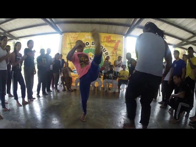 Capoeirando 2018. Roda do Mestre Canguru. Parte 1