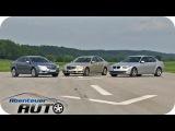 E-Klasse Mercedes vs. 5er BMW  vs. Opel Insignia - Abenteuer Auto