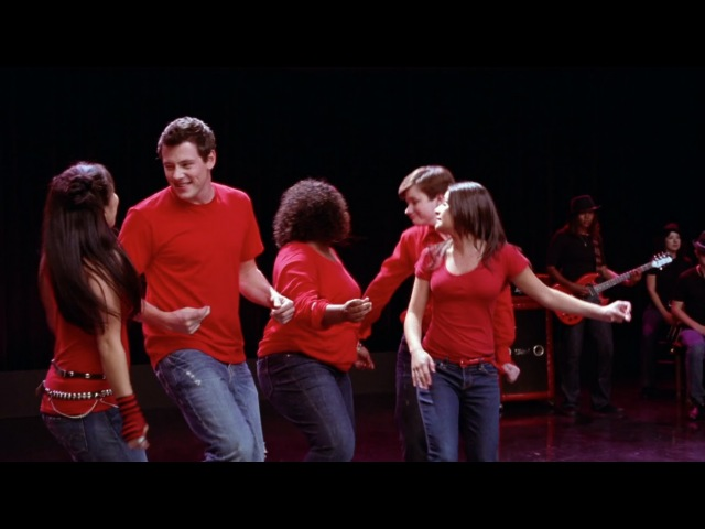 GLEE - Dont Stop Believin (Full Performance) HD