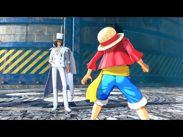 One Piece World Seeker Jail Island with Luffy, Sabo and Rob Lucci GAMEPLAY Screenshots