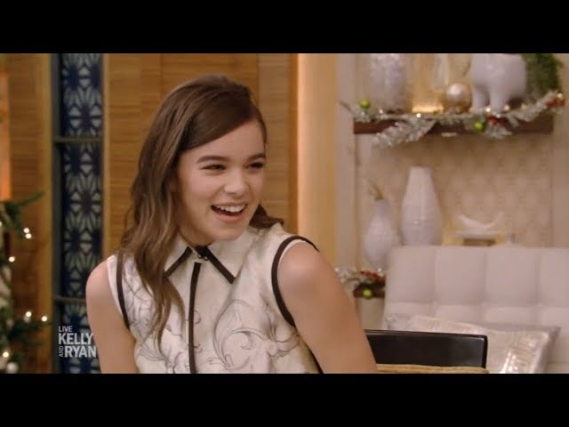 Hailee Steinfeld Live with Kelly and Ryan