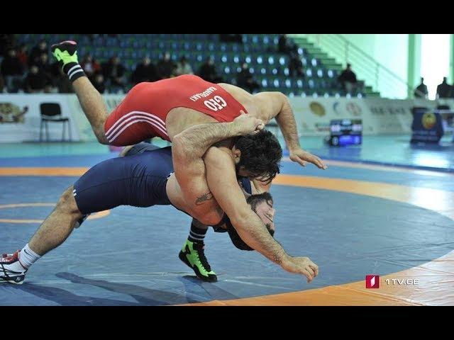 Iakob Kajaia - Beka Kandelaki Final - GR 130 kg Georgian Championship 2018 Tbilisi