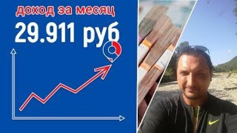 Отчет Кейс Дубровского. Доход 29911 рублей за первый месяц!