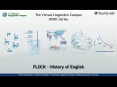 FLOCK History of English