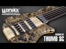 MAKING OF - Warwick Thumb SC Fretless 5-String - Piezo Bridge - Buckeye Burl Top 3288