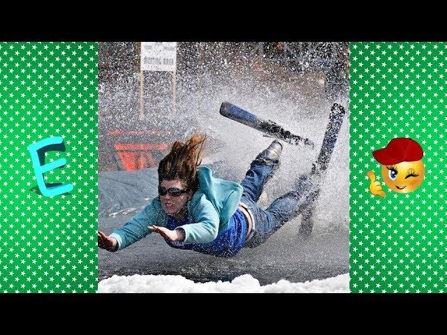 [ Не повторять ] Лучшие приколы лыжников и сноубордистов