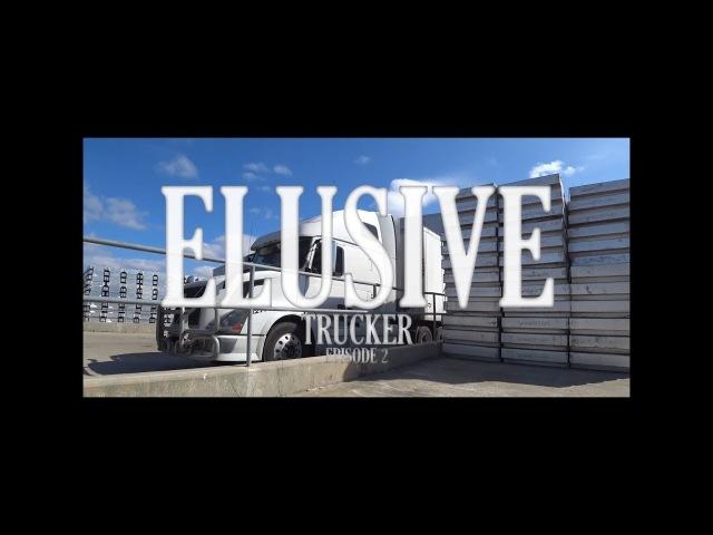 ElusiveTrucker ep2. Дальнобой США/опоздал на разгрузку/улетел номер/перевес/Техас-Луизиана-Tеннесси