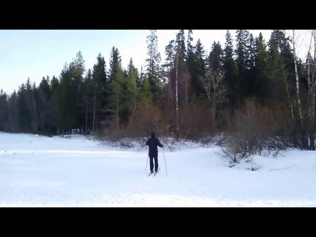 Ладожское озеро. Начало марта. Приозерск. Ролик снят с помощью Oukitel K10000MAX