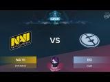 NaVi vs EG RU (bo1) ESL One Genting 2018 Minor 23.01.2018