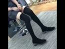 Обувь женская чулки