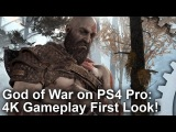 4K God of War PS4 Pro First Look - Sony's Next Big Tech Showcase!