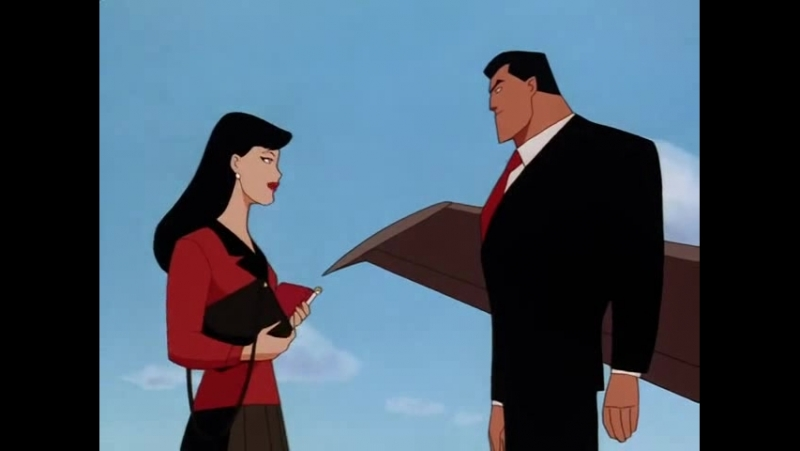 Супермен (1996) - Кларк встречает Брюса (отрывок)