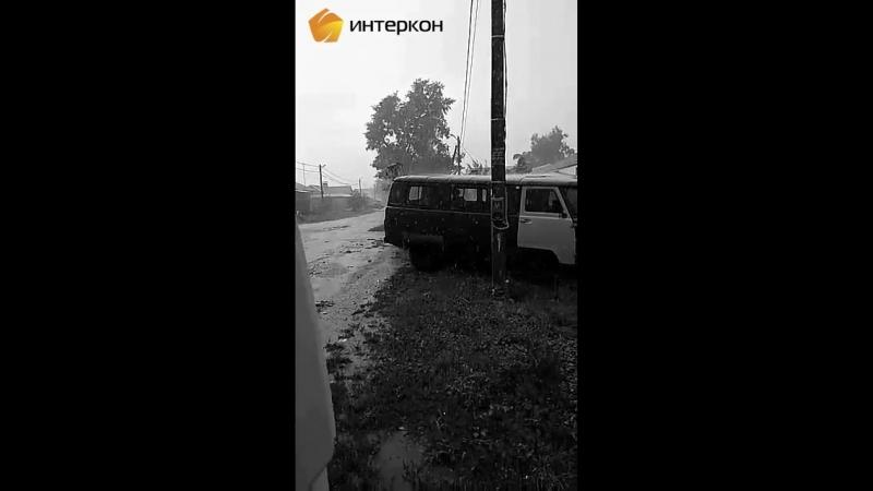 Интеркон град и дождь 23 июля