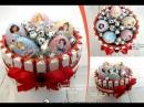 Торт из киндеров от Мастерской букетов из конфет