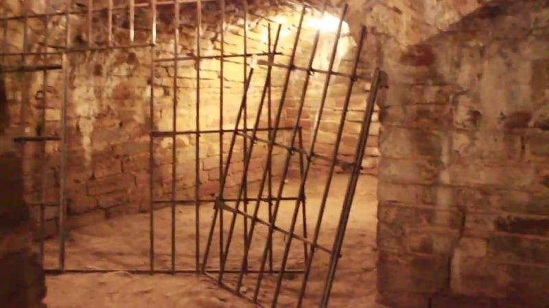 Шлиссельбург, крепость Орешек, подземный ход Королевской башни
