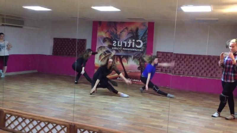 Современная хореография открытый урок