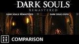 Dark Souls: Remastered (PS4 Pro) vs Dark Souls DSFix (PC) - Comparison