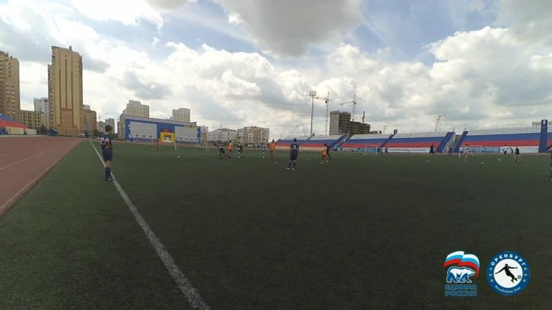 ЦСК Оренбург - Аргентина 8-3 (2002-2003). 2 тайм