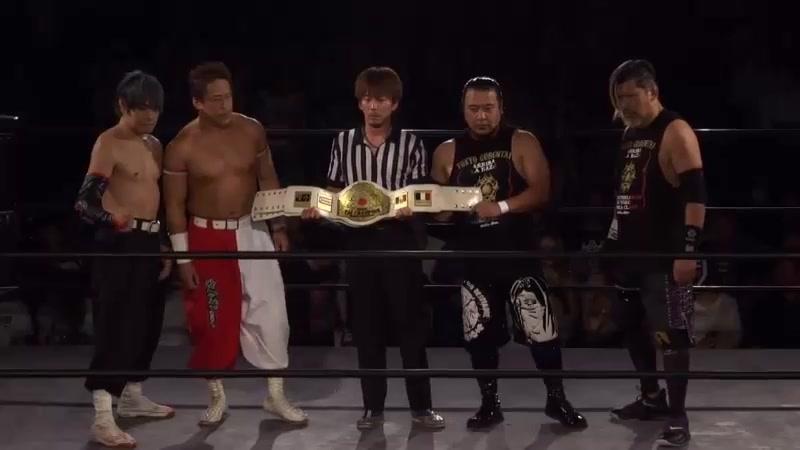 FUJITA, MAZADA (c) vs. Isami Kodaka, Yuko Miyamoto (Tokyo Gurentai - Tokyo Love 8)