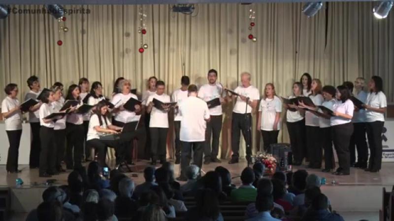 Cantata de Natal Coral Elos de Luz Comunhão Espírita de Brasília