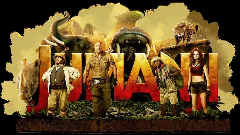 Джуманджи Зов джунглей (2017) (Jumanji Welcome to the Jungle)