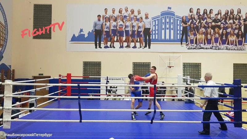 Илья Караманов (СПбПУ) vs Артём Власюк (НГУ им. Лесгафта)64kg