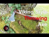How To Make A Viking Inspired Throwing Axe (From An Old Axe) DIY