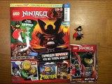 Обзор нового журнала Lego NinjaGo #6 за 2018 год Минифигурка Баффера