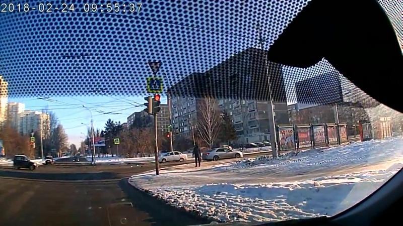 ДТП Екатеринбург Бардина - Чкалова 24.02.18