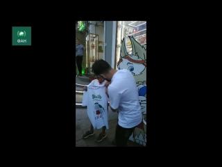 Петербуржцы приняли приехавшего на ЧМ иранского болельщика за Месси
